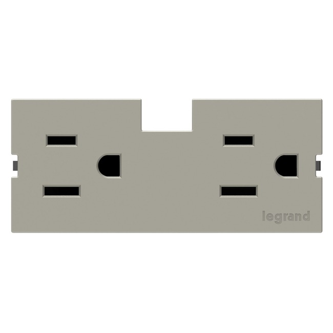 15 Amp Outlet Module for Undercabinet by Legrand | APTR15TM4