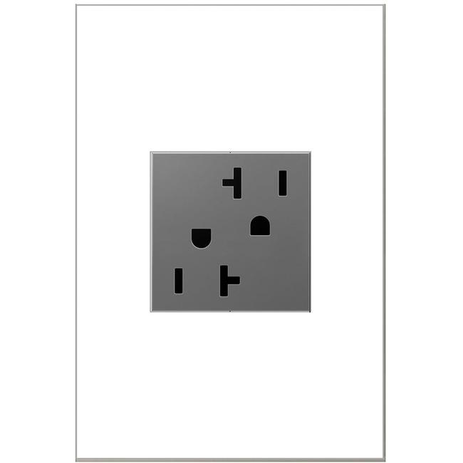Tamper Resistant 20 Amp Outlet by Legrand Adorne | ARTR202M4