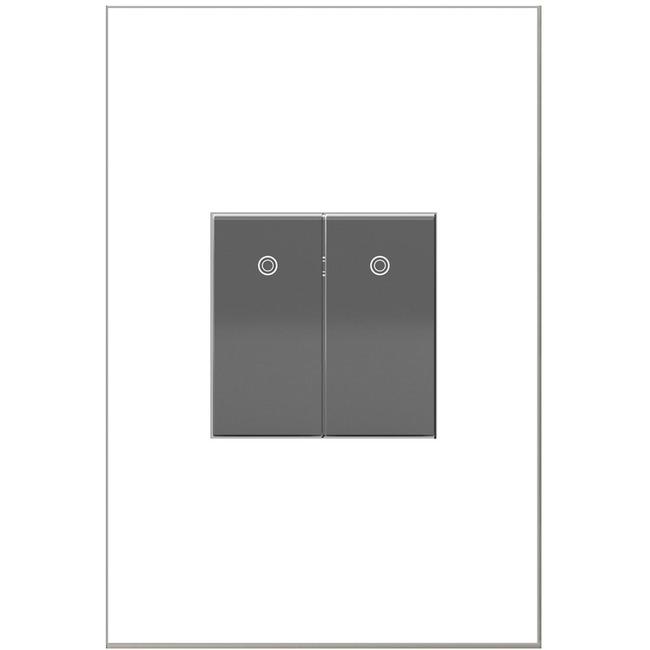 Adorne Half Size 15A Paddle Switch by Legrand | ASPD1531M4
