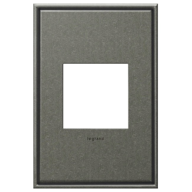 Cast Metal Wall Plate by Legrand | AWC1G2BP4