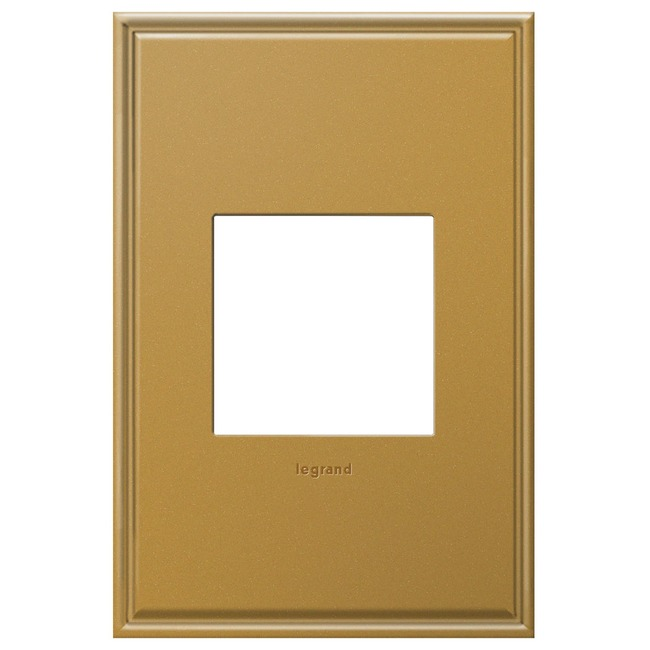 Cast Metal Wall Plate by Legrand   AWC1G2NB4
