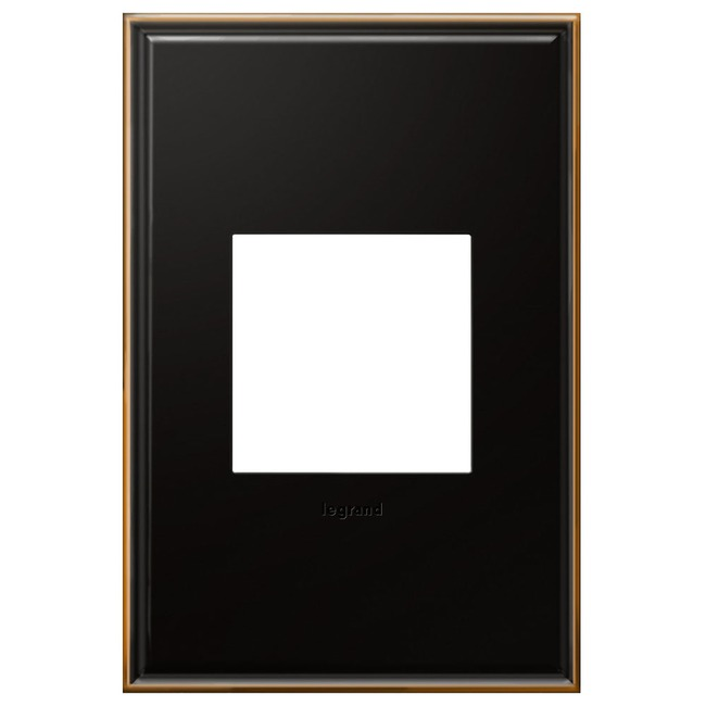Cast Metal Wall Plate by Legrand | AWC1G2OB4