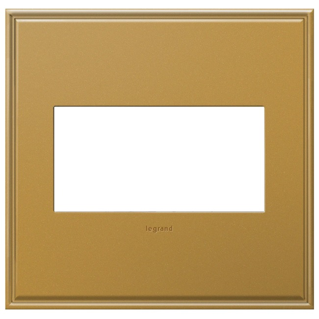 Cast Metal Wall Plate by Legrand | AWC2GNB4