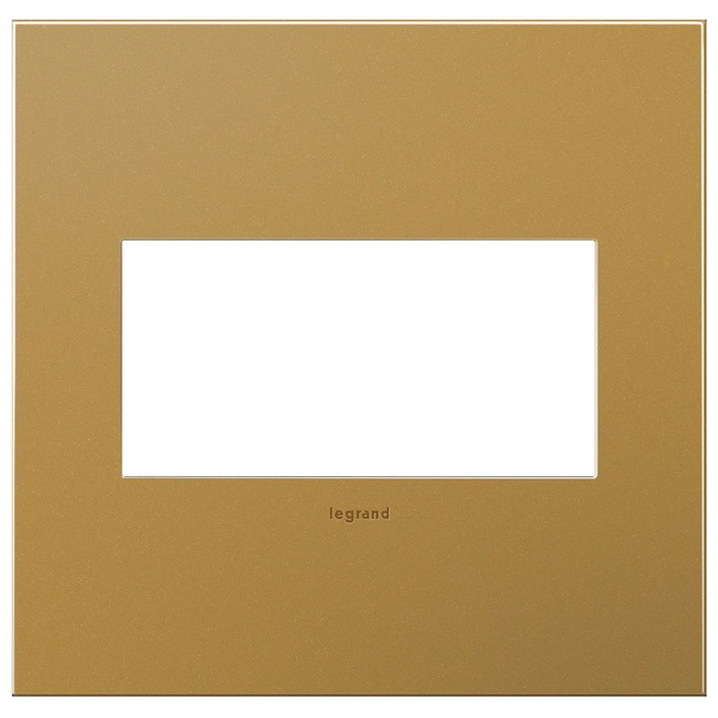 Cast Metal Wall Plate by Legrand | AWC2GSB4