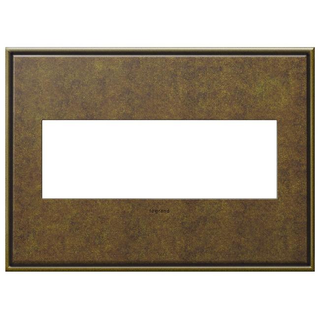 Cast Metal Wall Plate by Legrand | AWC3GAB4