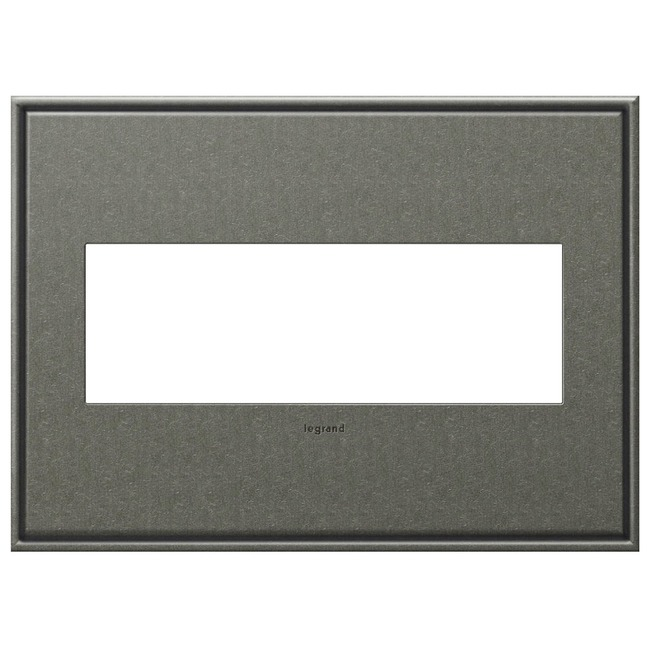 Cast Metal Wall Plate by Legrand | AWC3GBP4
