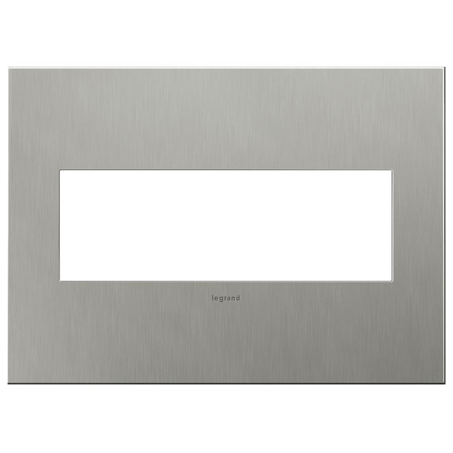 Cast Metal Wall Plate by Legrand | AWC3GBS4