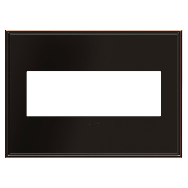 Cast Metal Wall Plate by Legrand | AWC3GOB4
