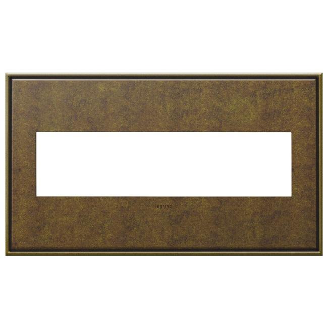 Cast Metal Wall Plate by Legrand   AWC4GAB4