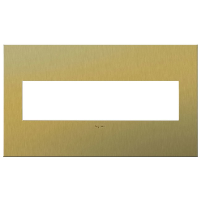 Cast Metal Wall Plate by Legrand | AWC4GBB4