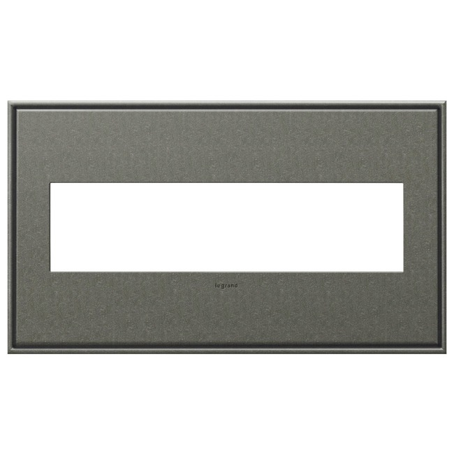 Cast Metal Wall Plate by Legrand   AWC4GBP4