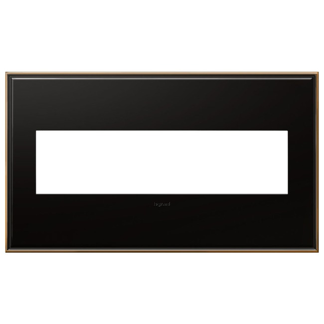 Cast Metal Wall Plate by Legrand | AWC4GOB4