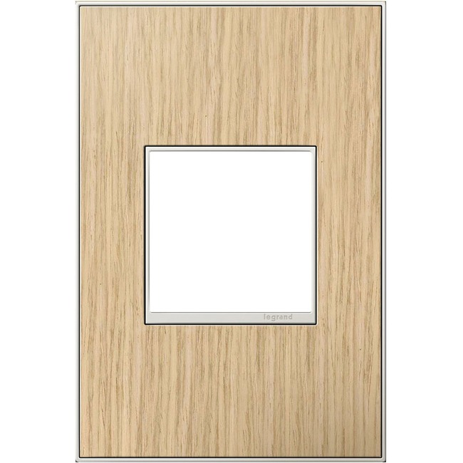 Adorne Real Material Screwless Wall Plate by Legrand | AWM1G2FH4