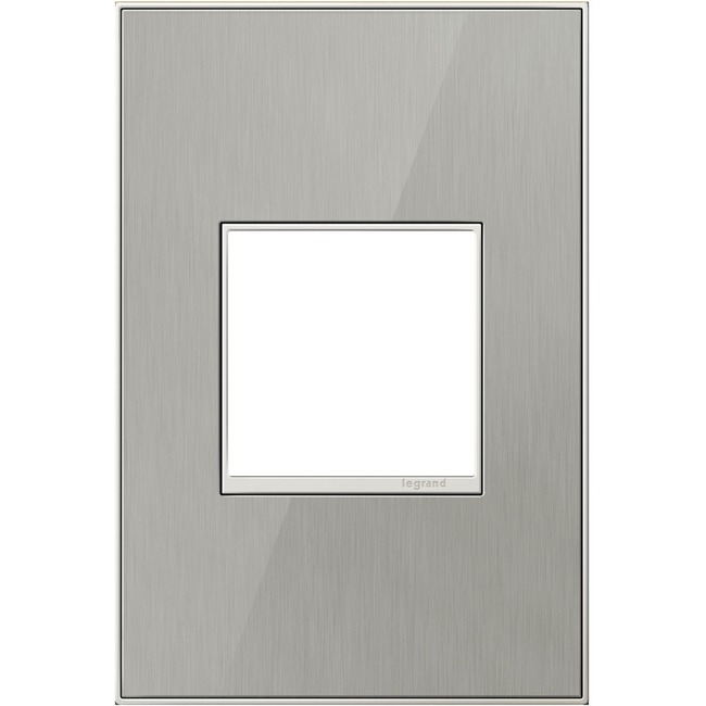 Adorne Real Material Screwless Wall Plate by Legrand | AWM1G2MS4