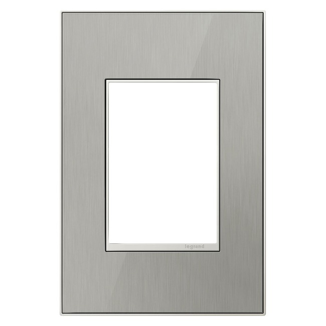 Real Material 1-Gang 3-Module Wall Plate by Legrand | AWM1G3MS4