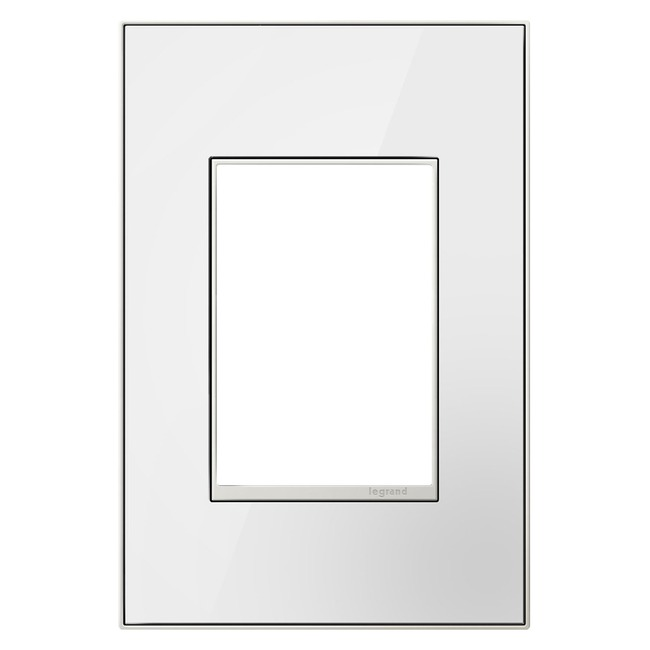 Adorne Real Material 1-Gang Plus Size Wall Plate  by Legrand Adorne