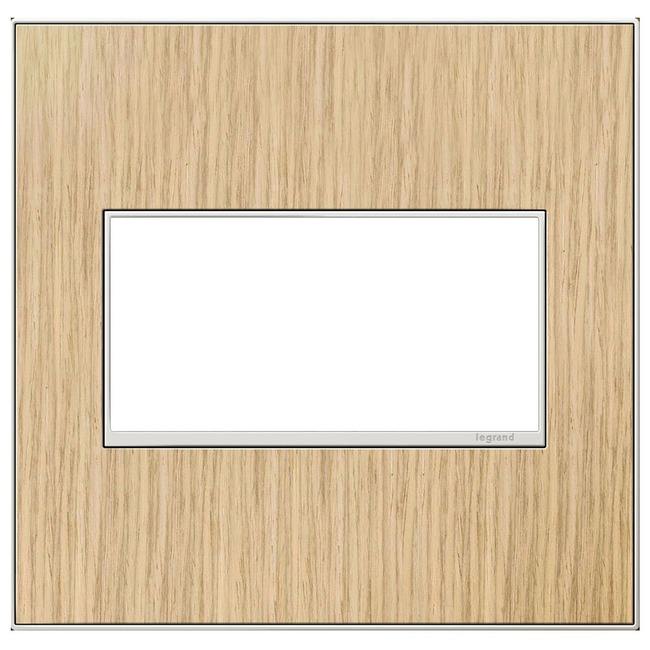 Adorne Real Material Screwless Wall Plate by Legrand   AWM2GFH4