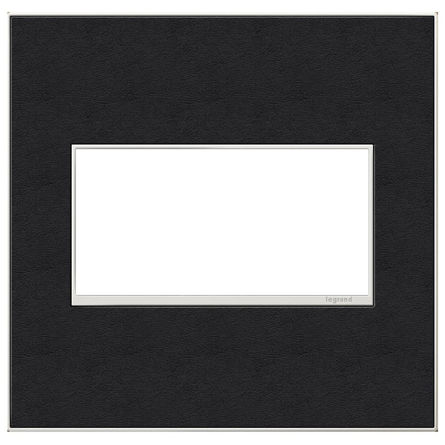 Adorne Real Material Screwless Wall Plate by Legrand   AWM2GLE4