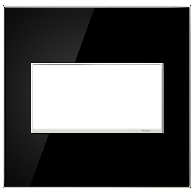 Adorne Real Material Screwless Wall Plate by Legrand | AWM2GMB4