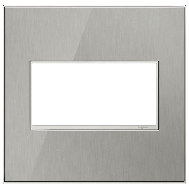 Adorne Real Material Screwless Wall Plate by Legrand | AWM2GMS4