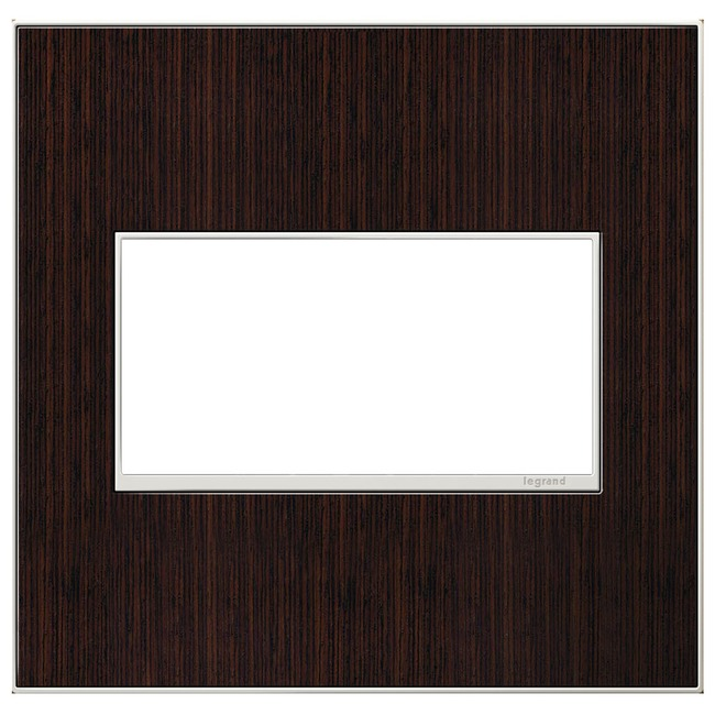 Adorne Real Material Screwless Wall Plate by Legrand | AWM2GWE4