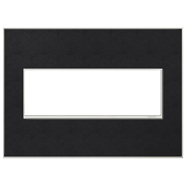 Adorne Real Material Screwless Wall Plate by Legrand | AWM3GLE4