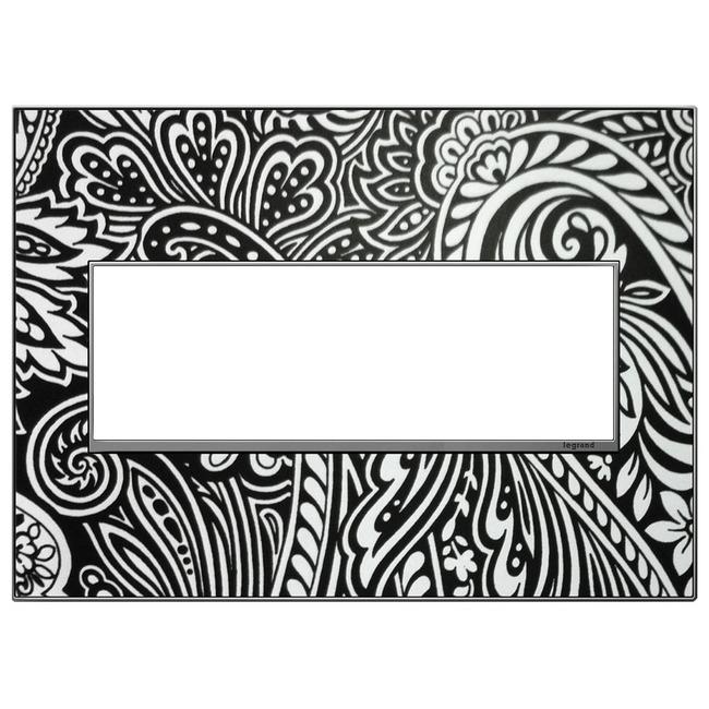 Custom Wall Plate by Legrand | AWM3GM4