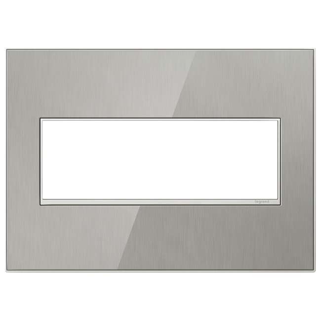 Adorne Real Material Screwless Wall Plate by Legrand | AWM3GMS4