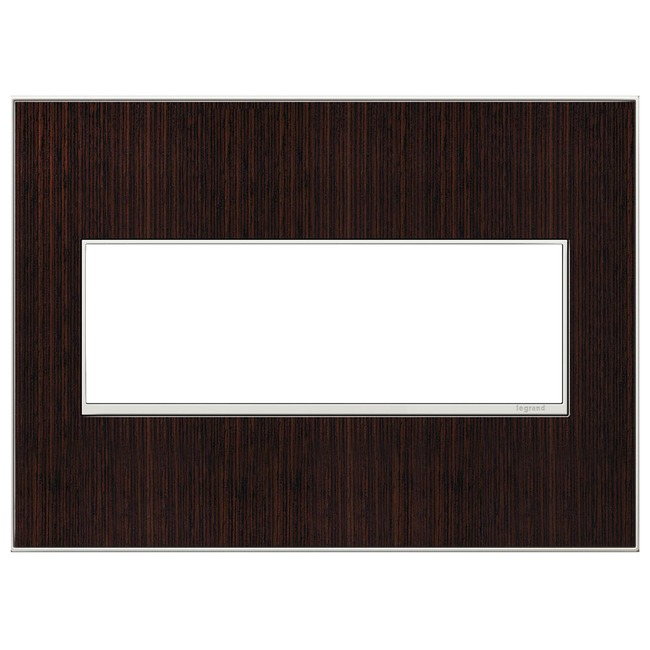 Adorne Real Material Screwless Wall Plate by Legrand   AWM3GWE4