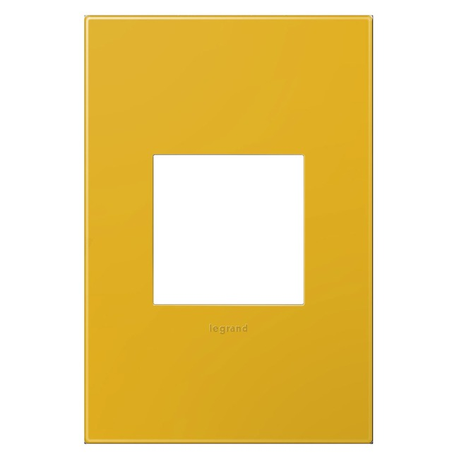 Adorne Plastic Screwless Wall Plate by Legrand | AWP1G2HY6