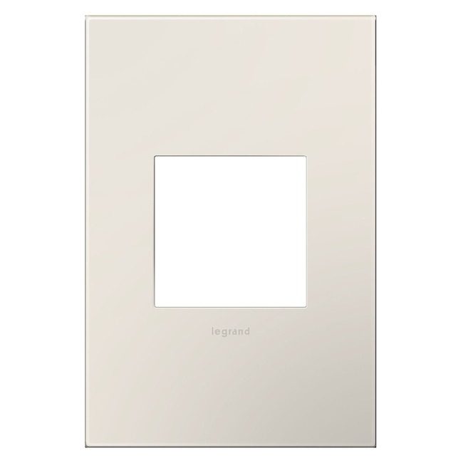 Adorne Plastic Screwless Wall Plate by Legrand | AWP1G2LA6
