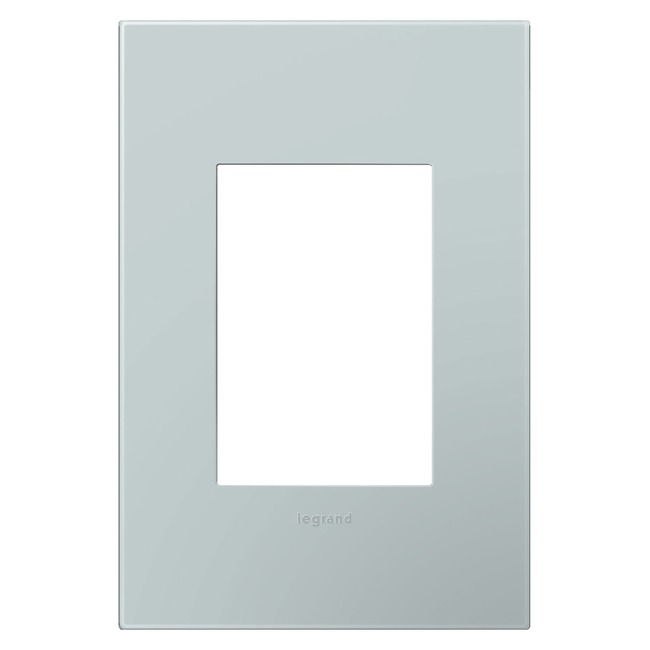 Adorne Plastic Screwless 1-Gang 3-Module Wall Plate by Legrand | AWP1G3BL4