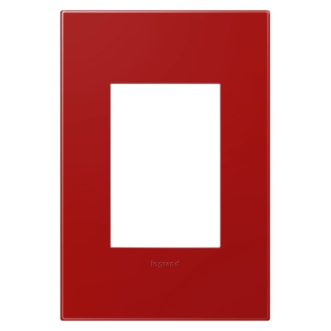 Adorne Plastic Screwless 1-Gang 3-Module Wall Plate by Legrand | AWP1G3CH4