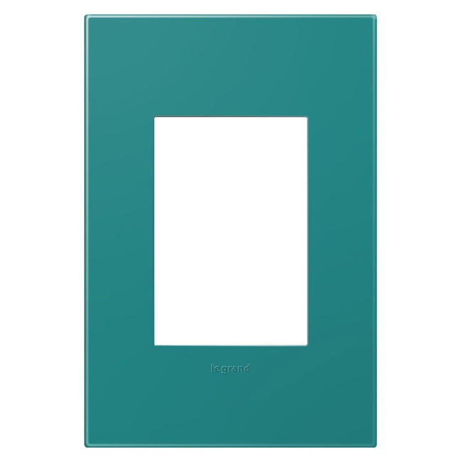 Adorne Plastic Screwless 1-Gang 3-Module Wall Plate by Legrand | AWP1G3TB4