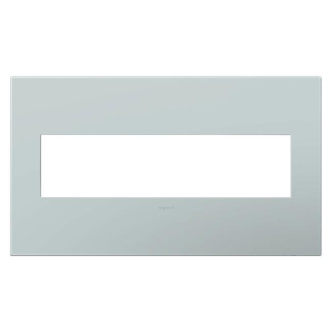 Adorne Plastic Screwless Wall Plate by Legrand   AWP4GBL4