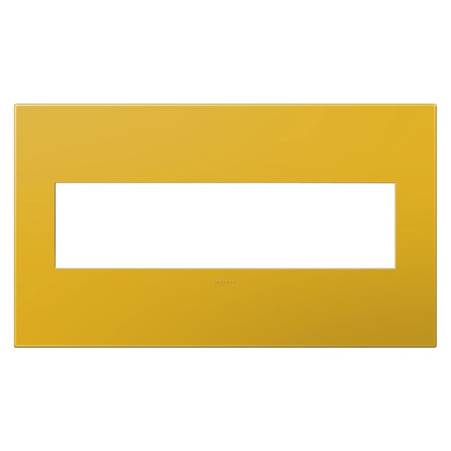 Adorne Plastic Screwless Wall Plate by Legrand   AWP4GHY4
