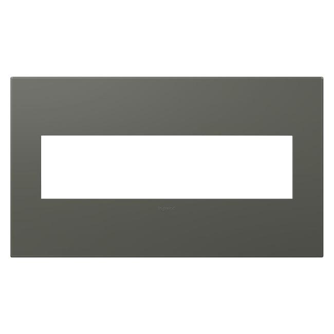 Adorne Plastic Screwless Wall Plate by Legrand | AWP4GMO4