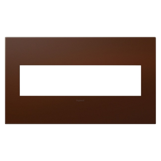 Adorne Plastic Screwless Wall Plate by Legrand | AWP4GRS4