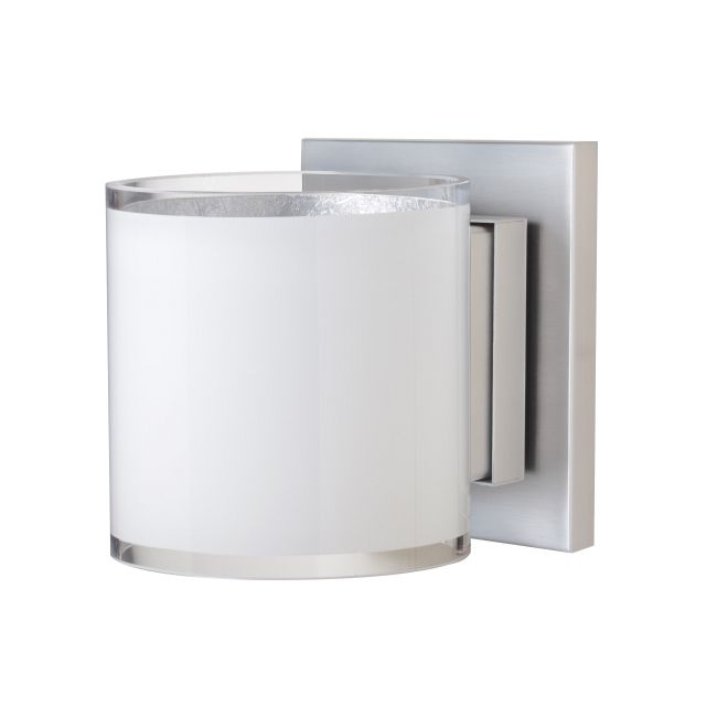 Pogo Wall Light by Besa Lighting | 1WS-7180SF-SN