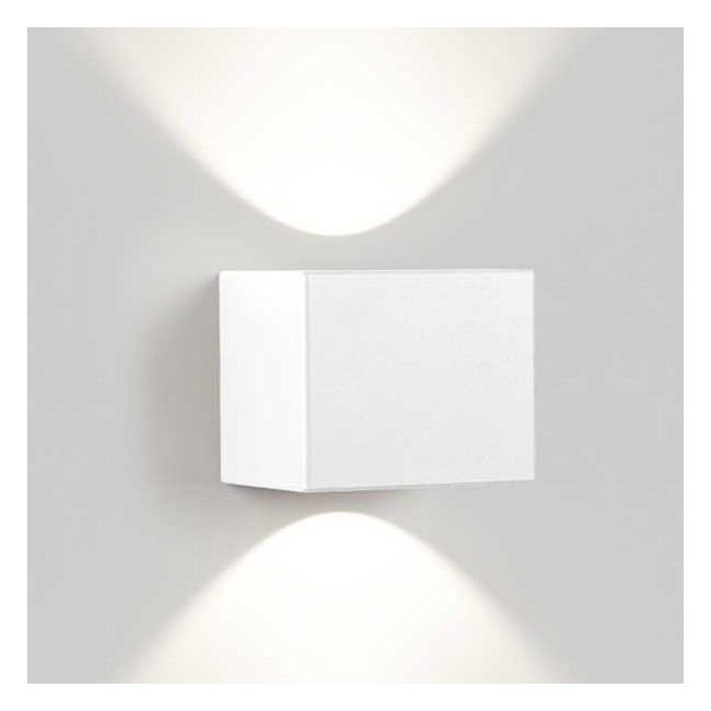Tiga LED Wall Sconce Wide/Wide by DeltaLight   6 223 751 8102 W