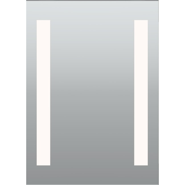 Twin Slim Surface Mount LED Mirror - Overstock  by PureEdge Lighting