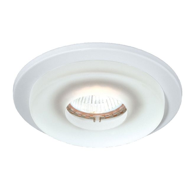 3.25IN Round Frosted Decorative Trim  by Eurofase
