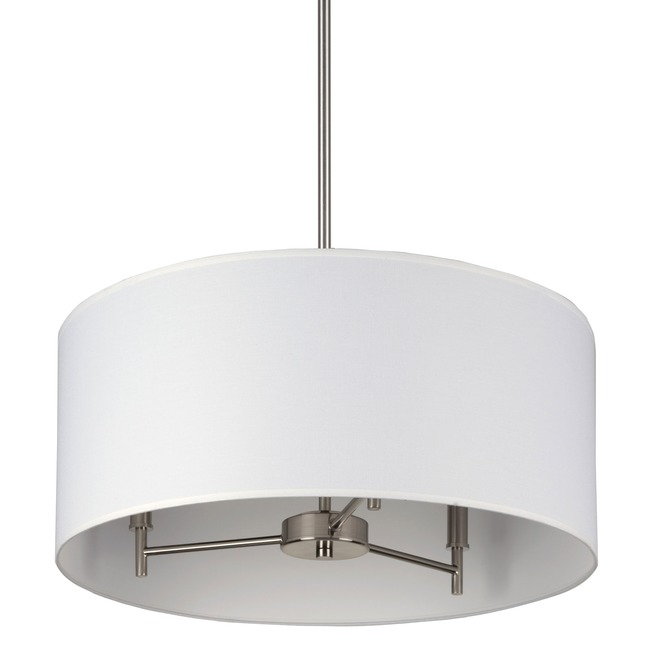 Walker 3 Light Suspension by Lights Up | TS-9030BN-WHT