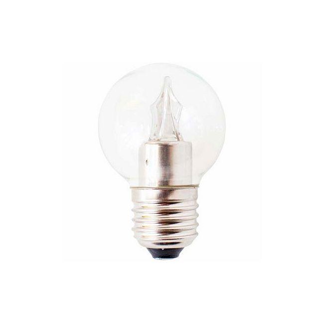 Utopia LED G16.5 E26 3W 120V 2700K 180 Lumens  by Ushio America Inc.