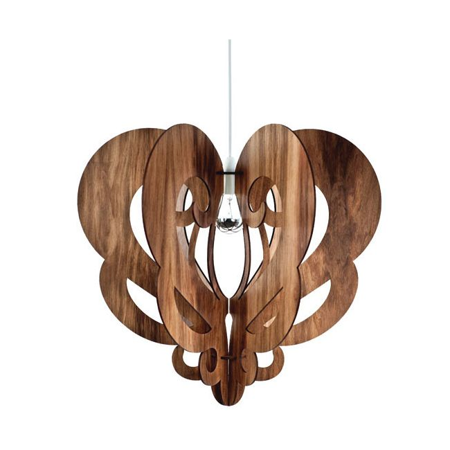 Baroque Pendant by Lightology Collection | LC-BAR-S-LG-BW