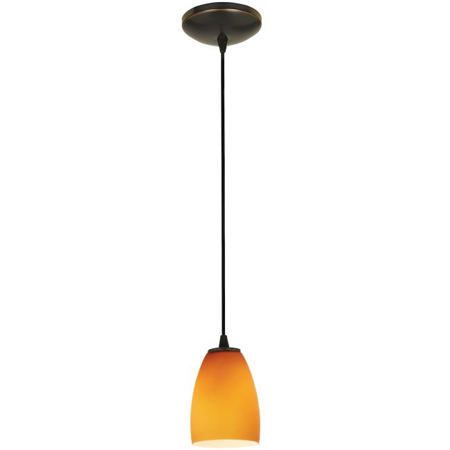 Sherry Cord Pendant by Access | 28069-1C-ORB/AMB