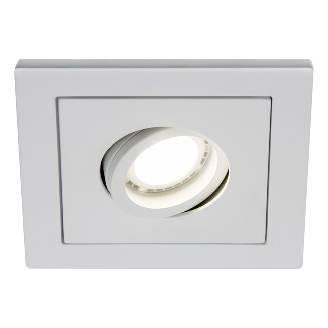 R3-DS88 3 Inch Square Adjustable Spot Trim by Beach Lighting   R3-DS88MW