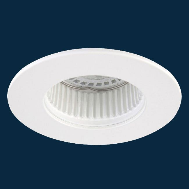 R3-DR93 3 Inch Round Baffle Downlight Trim by Beach Lighting | R3-DR93MW