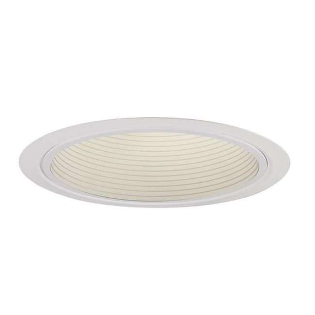Lytecaster 1005 5 Inch Step Baffle Reflector Trim by Lightolier | 1005WH