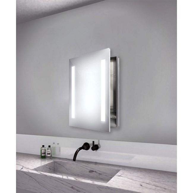 Ascension Medicine Cabinet with Keen Dimming  by Electric Mirror